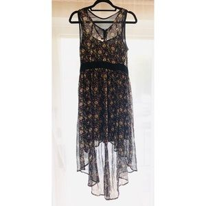 A Chain of Flowers High Low Dress